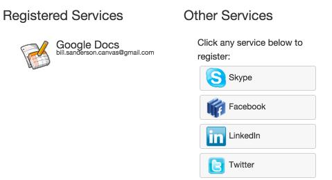 Google Docs is registered