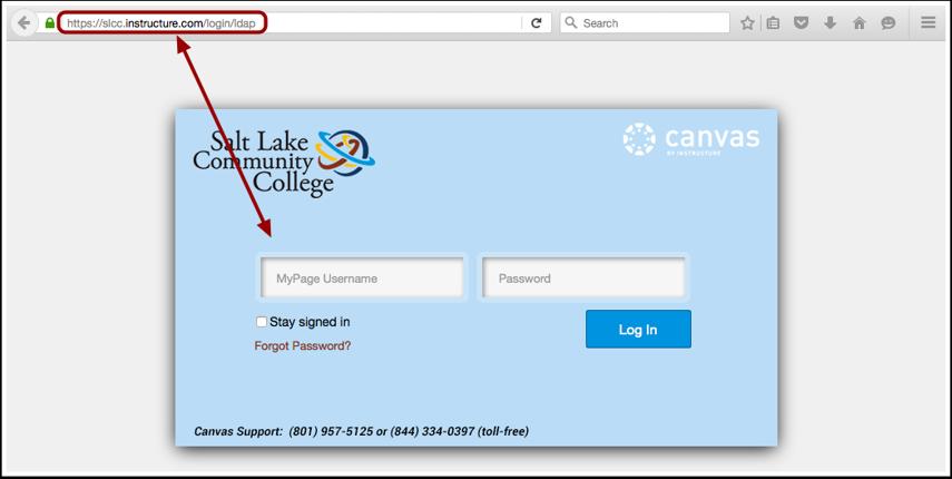 Access Canvas via Canvas URL