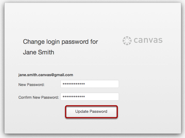 Password Change