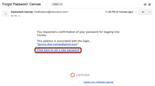 Open Password Link