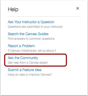 Ask the Community (Non-Students)