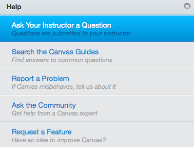 Ask Your Instructor a Question