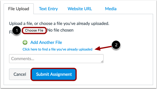Submit a File Upload