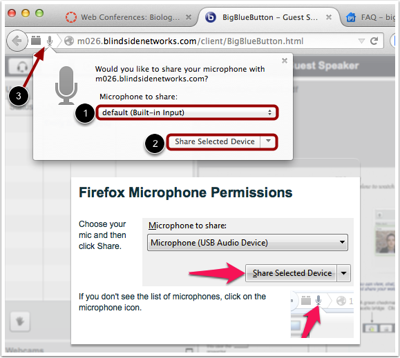 Firefox Microphone Permissions