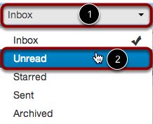 Select Unread Conversations