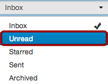 View Unread Messages