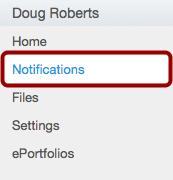 Adjust Notification Preferences