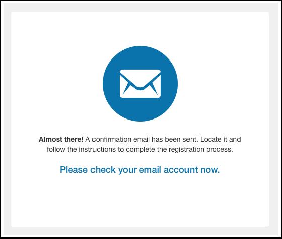 New User: Complete Registration