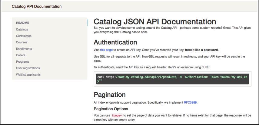View API