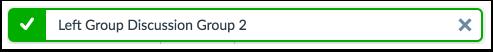 Verify Group Removal