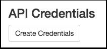 View API Credentials