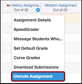Unmute Assignment
