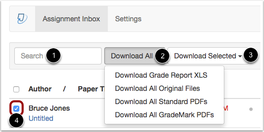 Manage Inbox