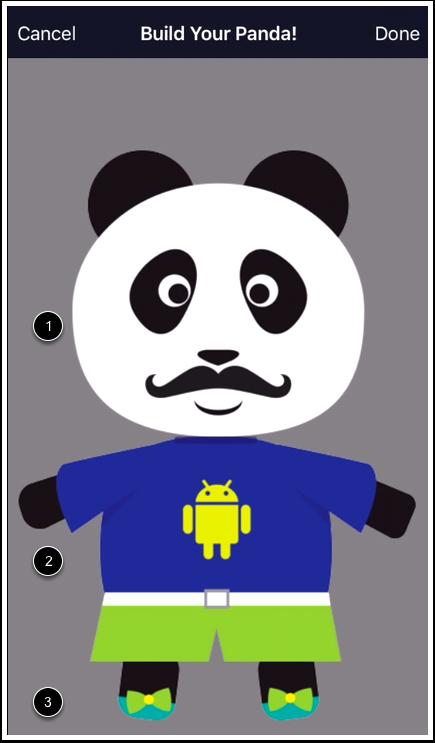 Customize Panda Avatar