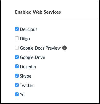 View Web Services