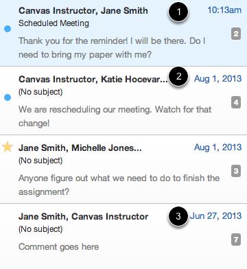 View Conversations Inbox