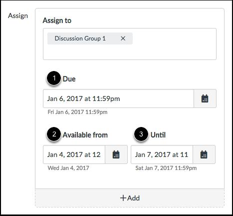 Editar Datas de Vencimento e Disponibilidade