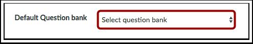 Selecionar Banco de Perguntas