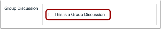 Select Group Discussion