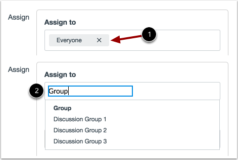 Assign to Group