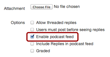Remove Podcast Feed