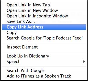 Copy URL Link