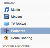 Select Podcasts
