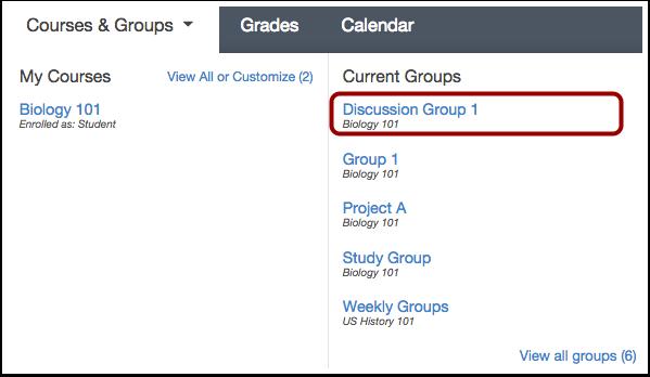 Choose Group