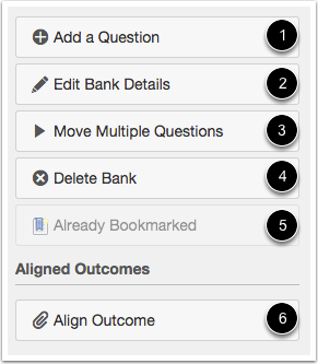 Question Bank Options