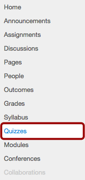 Open Quizzes