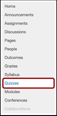 Open Quizzes