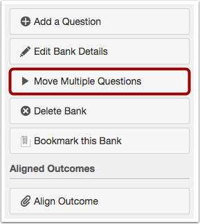 Move Multiple Questions