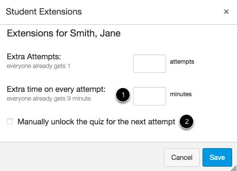 Adjust Additional Options
