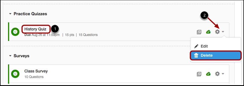 Select Quiz