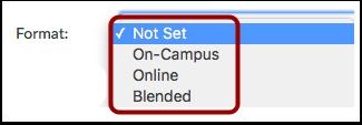 Select Format