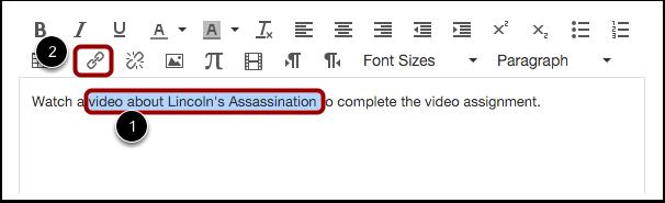 Mettre en hyperlien de texte existant