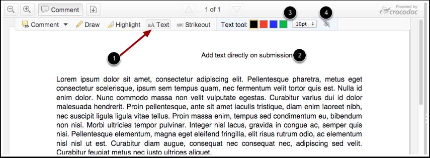 Utiliser l'outil Texte
