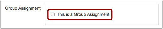 Assign Group Work