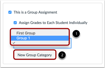 Select Group Set