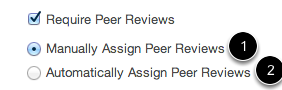 Determine Peer Review Assignment Type