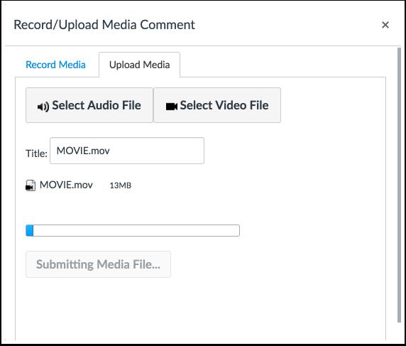 Monitor File Upload