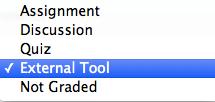 External Tool