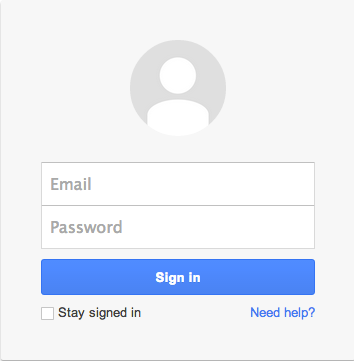 Log in to Google Account