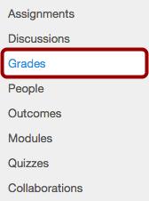 Access Grades in a Specific Course