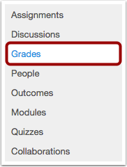 Access Grades in a Specific Course