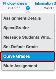 Curve Grades