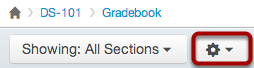 Open Gradebook Options