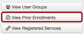 View Prior Enrollments