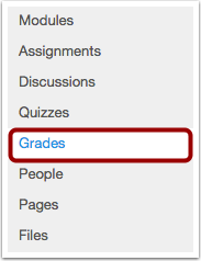 View Grades in Grades