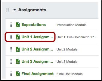 Locate Assignment